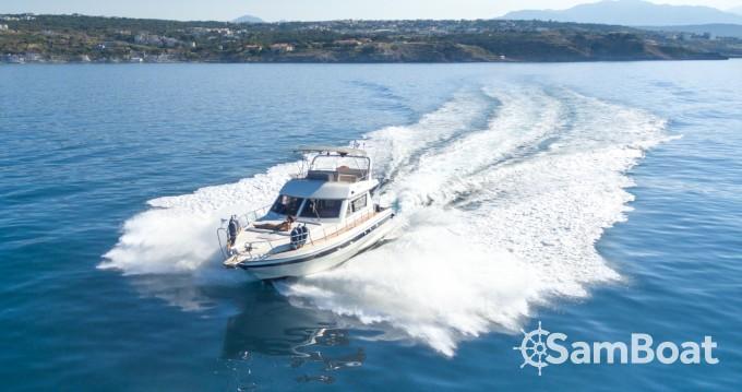 Boat rental Rethymno cheap Harmony 42