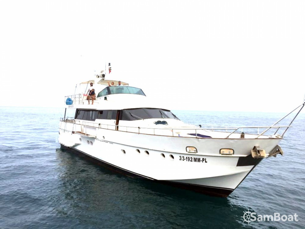 Rental yacht Allyene عليين - Baglietto 21 Metres fly-bridge on SamBoat