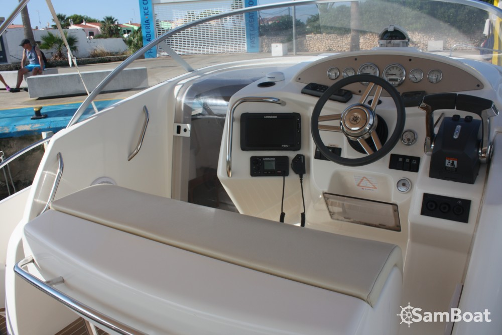Boat rental Jeanneau cap camarat 925 wa in Ciutadella on Samboat