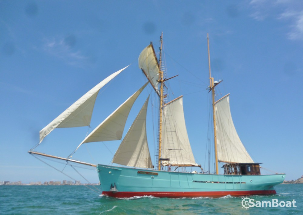 Rental Sailboat West Country schooner with a permit