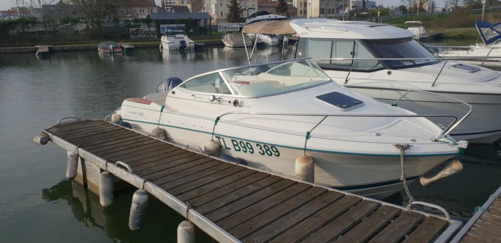 Boat rental Metz cheap Leader 605
