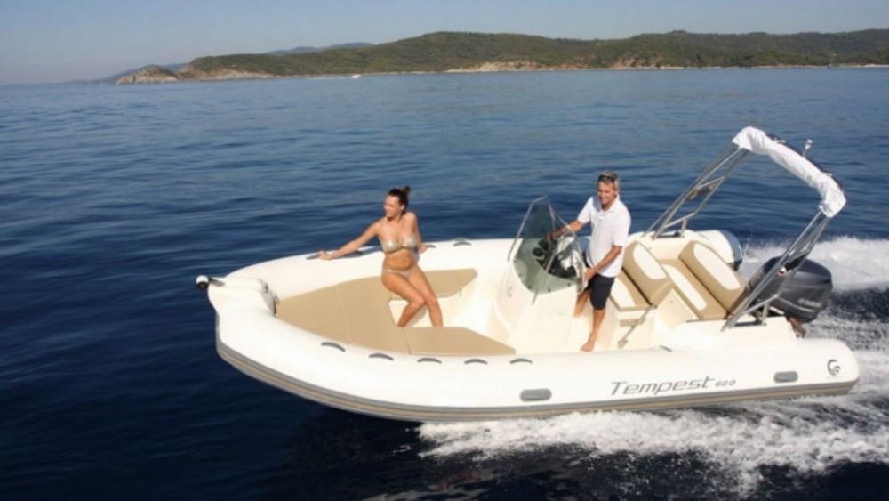 Rental RIB in Corsica - Capelli-Tempest 600