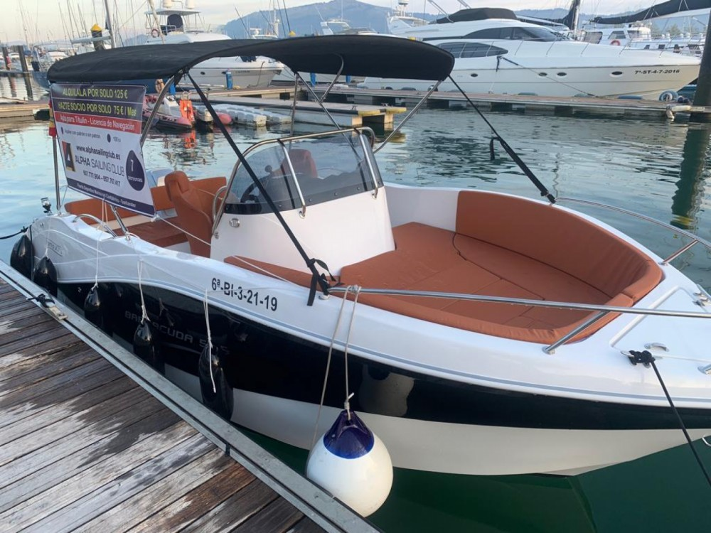 Okiboats Barracuda 545 Open between personal and professional Santander