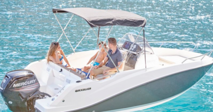 Hire Motorboat with or without skipper Quicksilver Puerto Alcocéber
