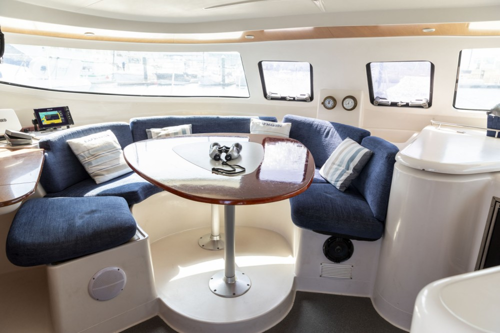 Fountaine Pajot Athena 38 between personal and professional Vigo