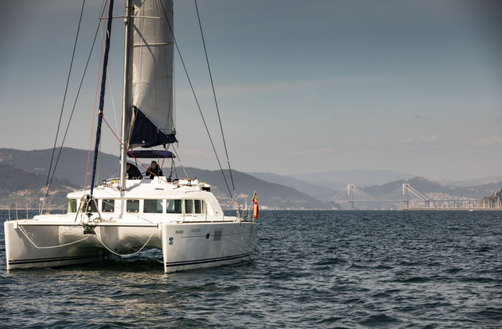 Catamaran for rent Vigo at the best price