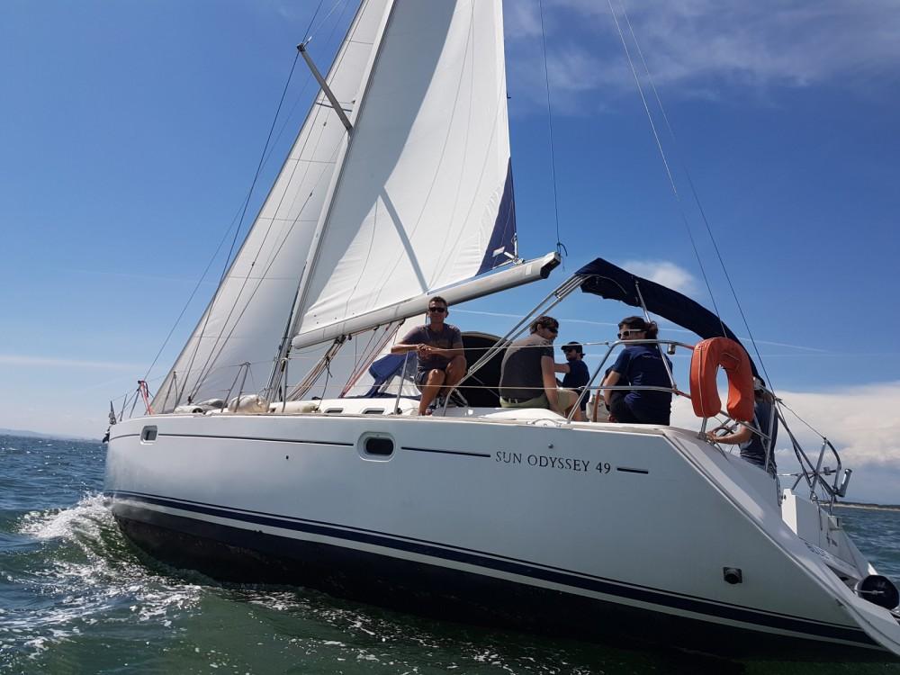 Rent a Jeanneau Sun Odyssey 49 La Grande-Motte