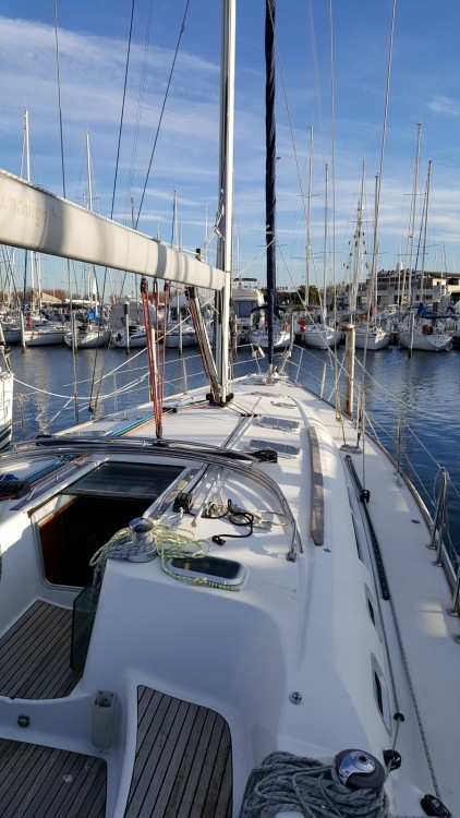 Jeanneau Sun Odyssey 49 between personal and professional La Grande-Motte