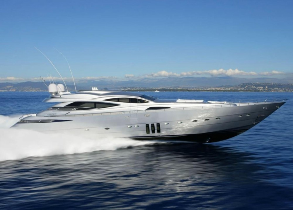 Boat rental Cannes cheap Pershing 115