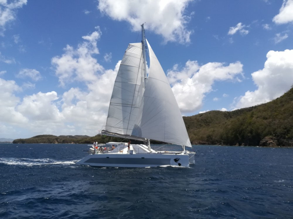 Outremer CATAMARAN between personal and professional Guadeloupe