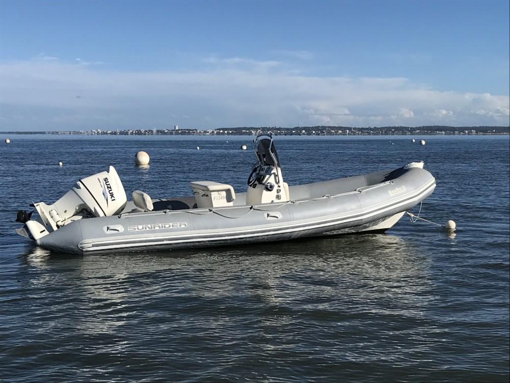 Rental RIB in Lège-Cap-Ferret - Bombard Sunrider 650