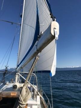 Rental Sailboat Skookum with a permit
