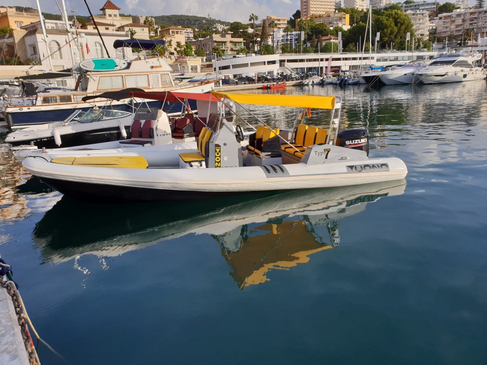 Rental RIB in Palma - AVILA TUONO TYPE 7