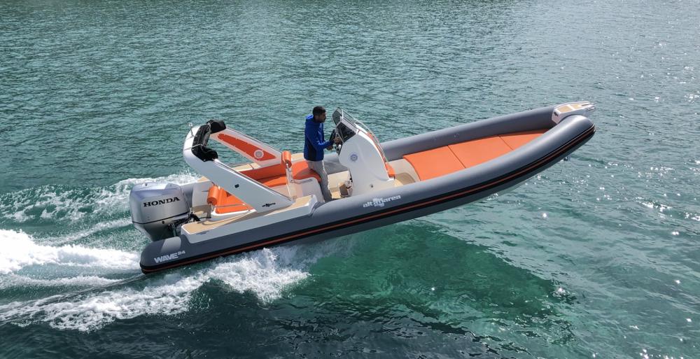 Boat rental Bandol cheap Wave 24