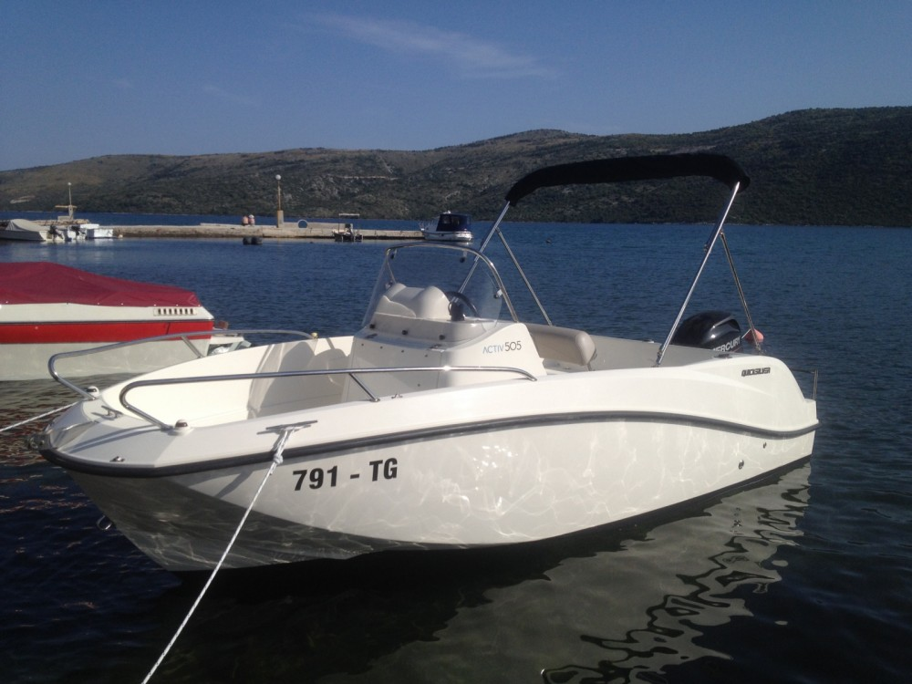 Boat rental Quicksilver Activ 505 Open in Trogir on Samboat