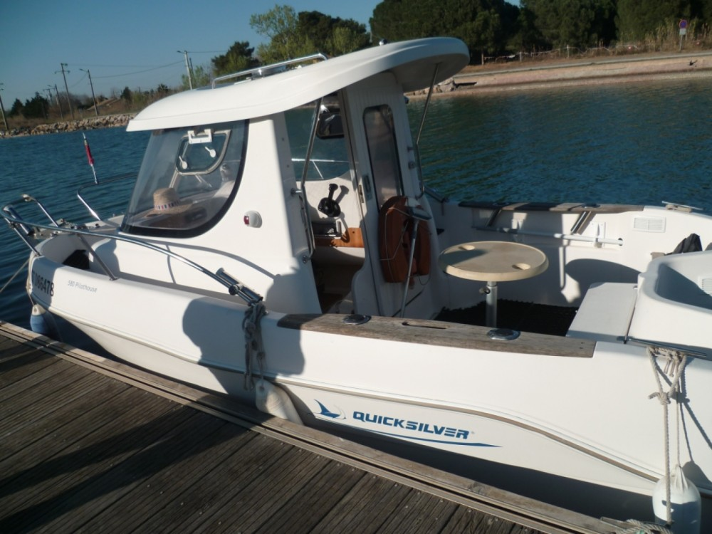 Hire Motorboat with or without skipper Quicksilver Marseillan