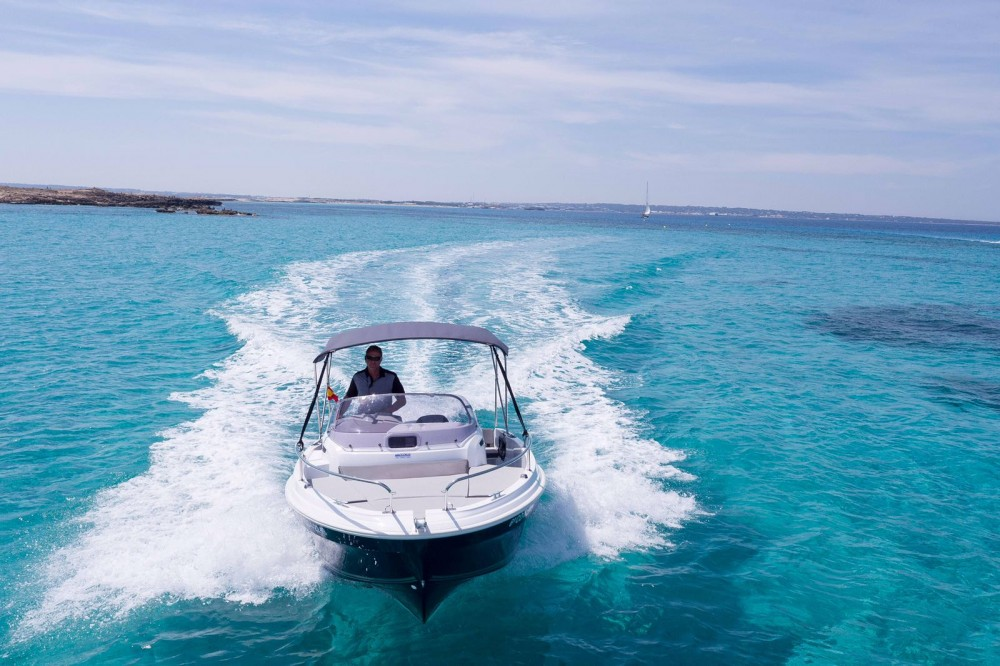 Rental yacht Ibiza - Jeanneau Cap Camarat 5.5 WA on SamBoat