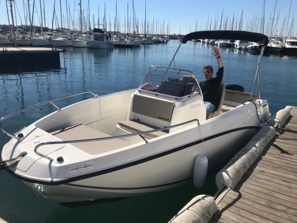 Rent a Quicksilver Activ 555 Open Edition Smart Toulon