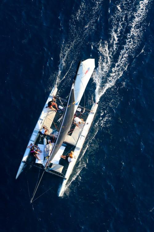 Rental Catamaran Custom Made with a permit