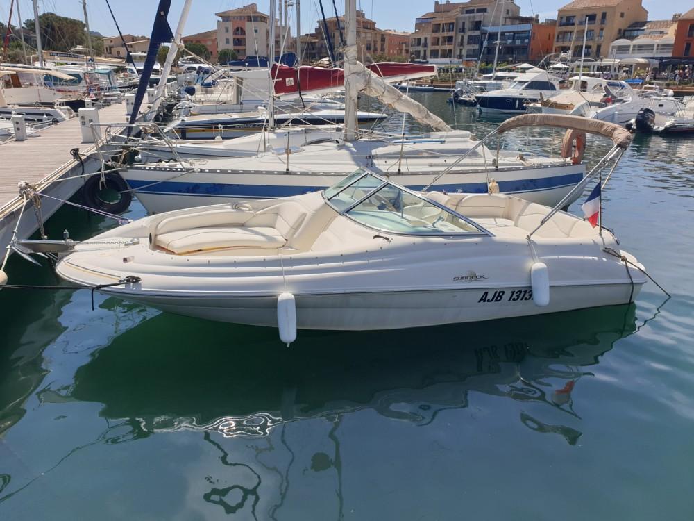 Boat rental Porto-Vecchio cheap Sea Ray 210 Sundeck