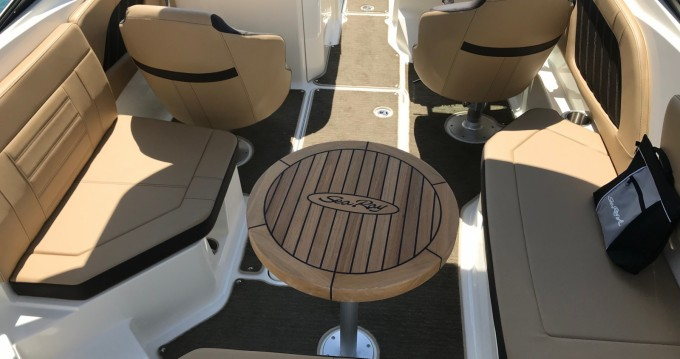 Rent a Sea Ray SPX 230 Antibes