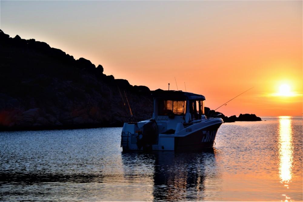 Boat rental Ajaccio cheap Barracuda 7