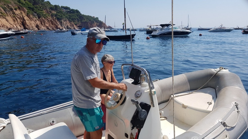 Hire RIB with or without skipper Bombard Palafrugell