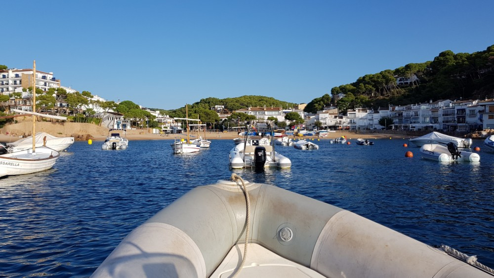 Boat rental Palafrugell cheap Ribster 500