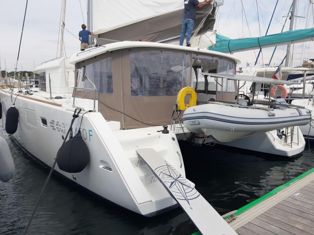 Boat rental Hyères cheap Lagoon 450 F