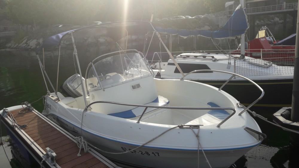 Boat rental Pontevedra cheap Quicksilver 525 Flamingo