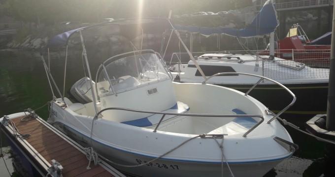 Boat rental Cobres cheap Quicksilver 525 Flamingo