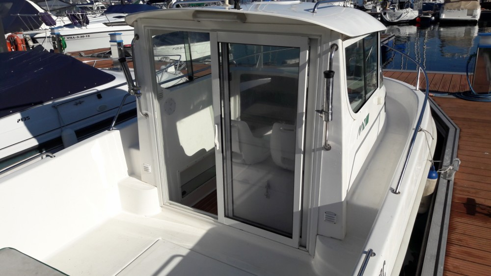 Motor boat for rent Cobres at the best price