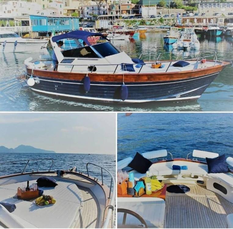 Rental Motorboat in Positano - Apreamare Smeraldo 9 mt