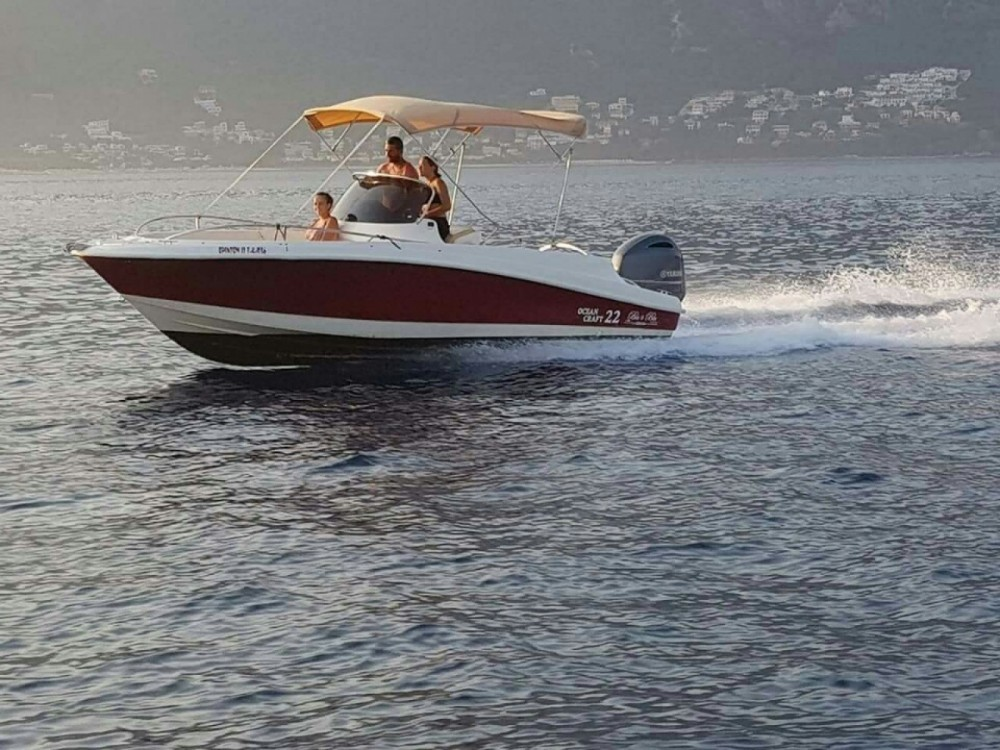 Motorboat for rent Korfu at the best price