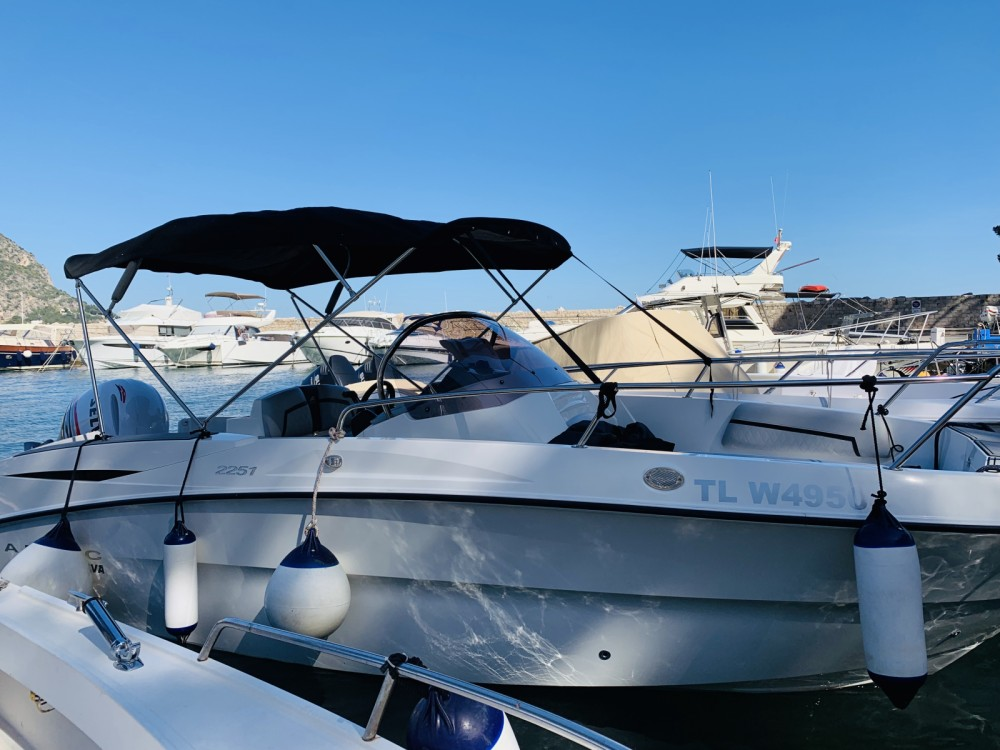 Boat rental Èze cheap 2251