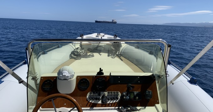 Hire RIB with or without skipper Marlin Boat Panarea