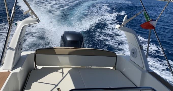 Boat rental Panarea cheap Marlin 23