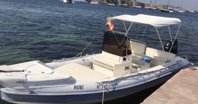 Boat rental Gommonautica G65y in Ibiza Island on Samboat