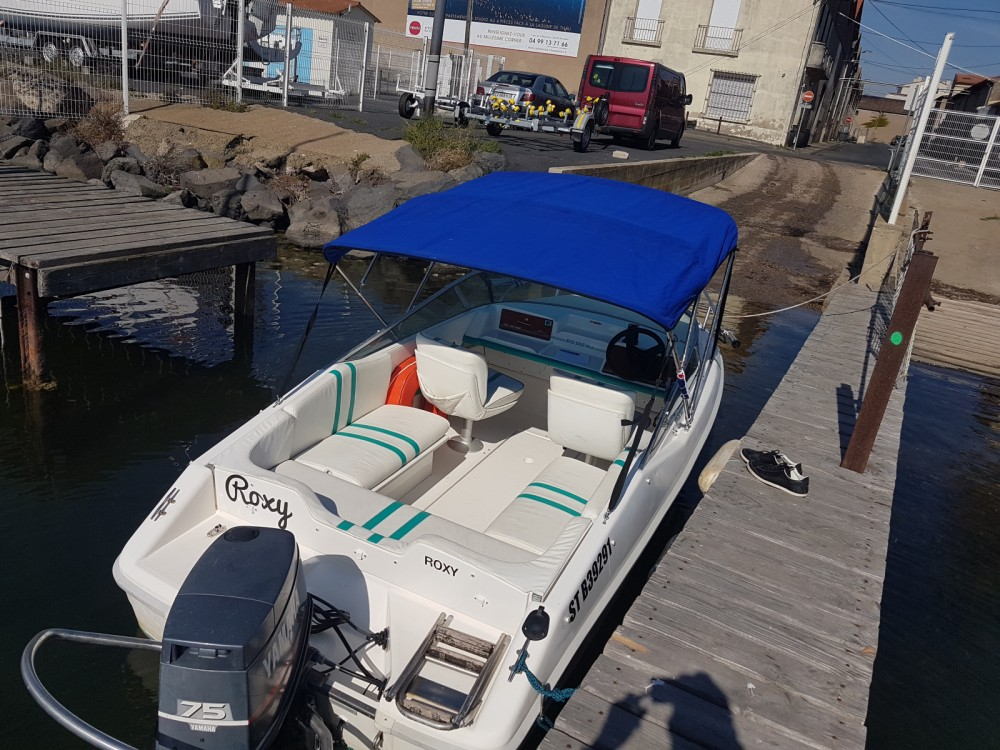 Hire Motor boat with or without skipper Rio Marseillan