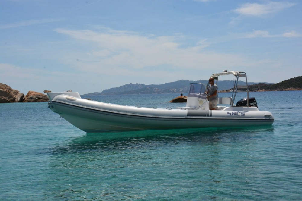 Boat rental Sacs S 780 in La Maddalena on Samboat