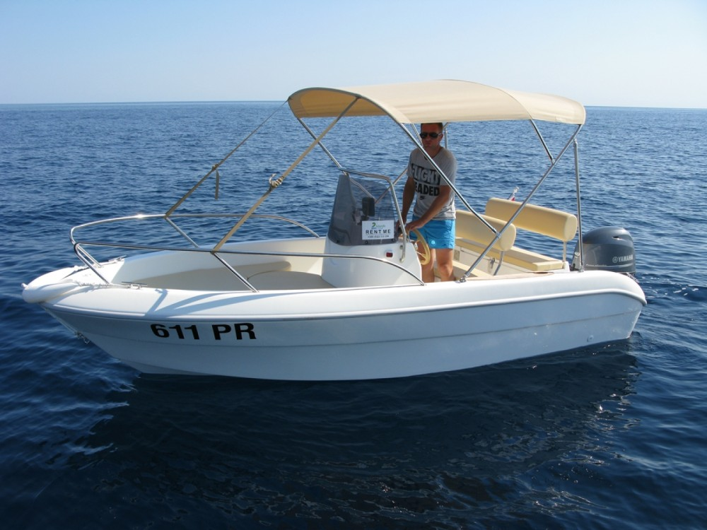 Sessa Marine Key Largo 17 between personal and professional Ugljan