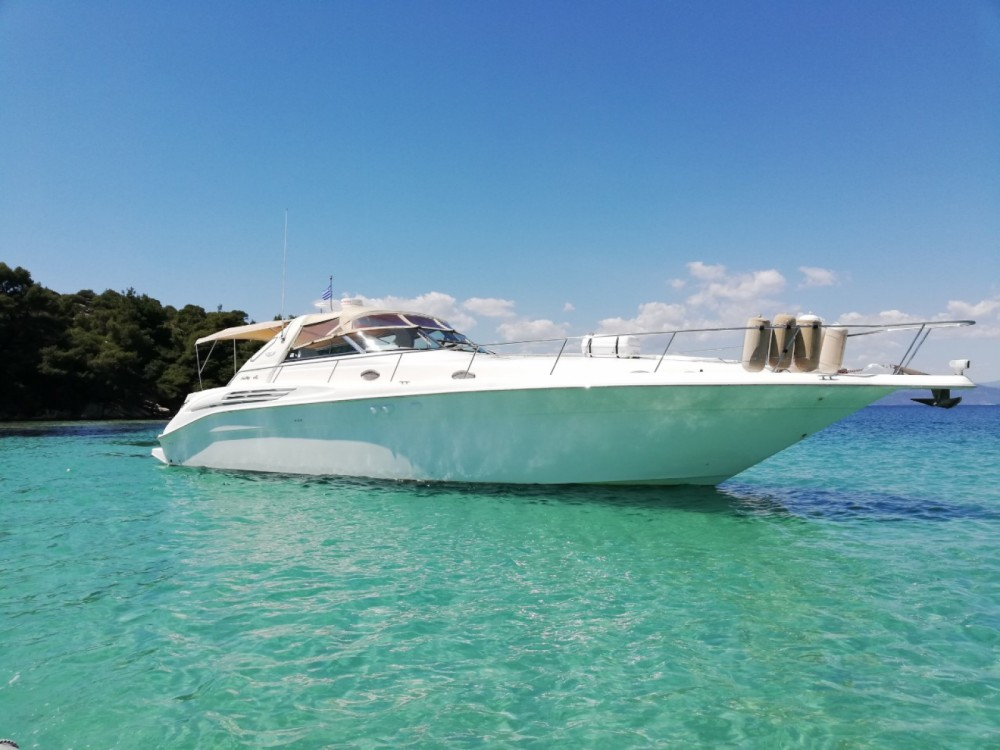 Hire Motorboat with or without skipper Sea Ray Ormos Panagias