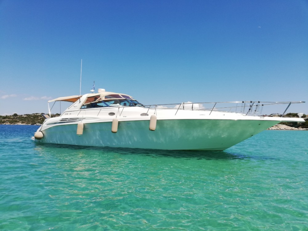 Sea Ray Sea Ray 450 Sundancer between personal and professional Ormos Panagias