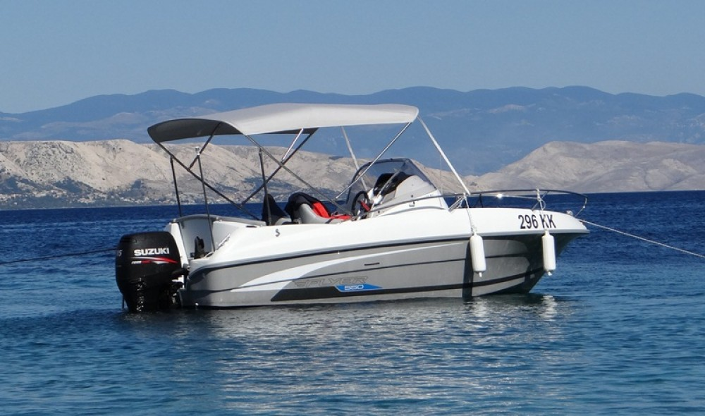 Motorboat for rent Punat at the best price