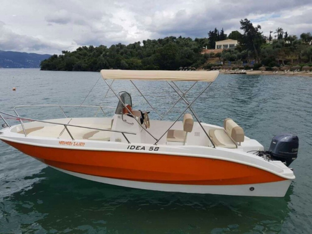 Rental Motor boat Idea with a permit