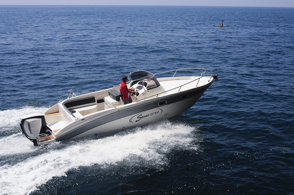 Hire Motorboat with or without skipper SAVER 750 WA Opatija