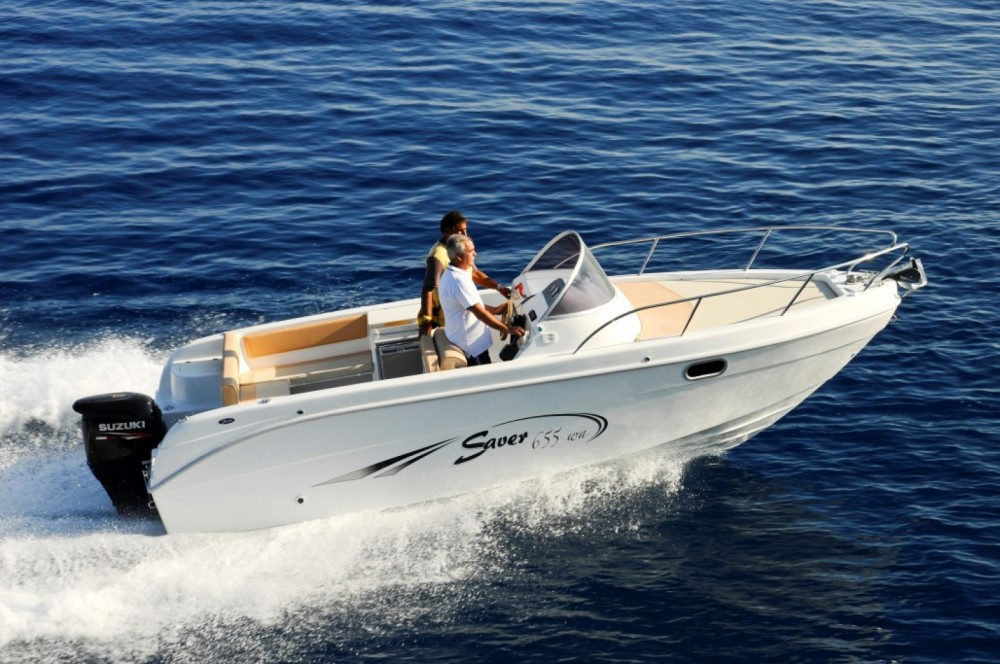 Rental Motorboat SAVER 620 WA with a permit
