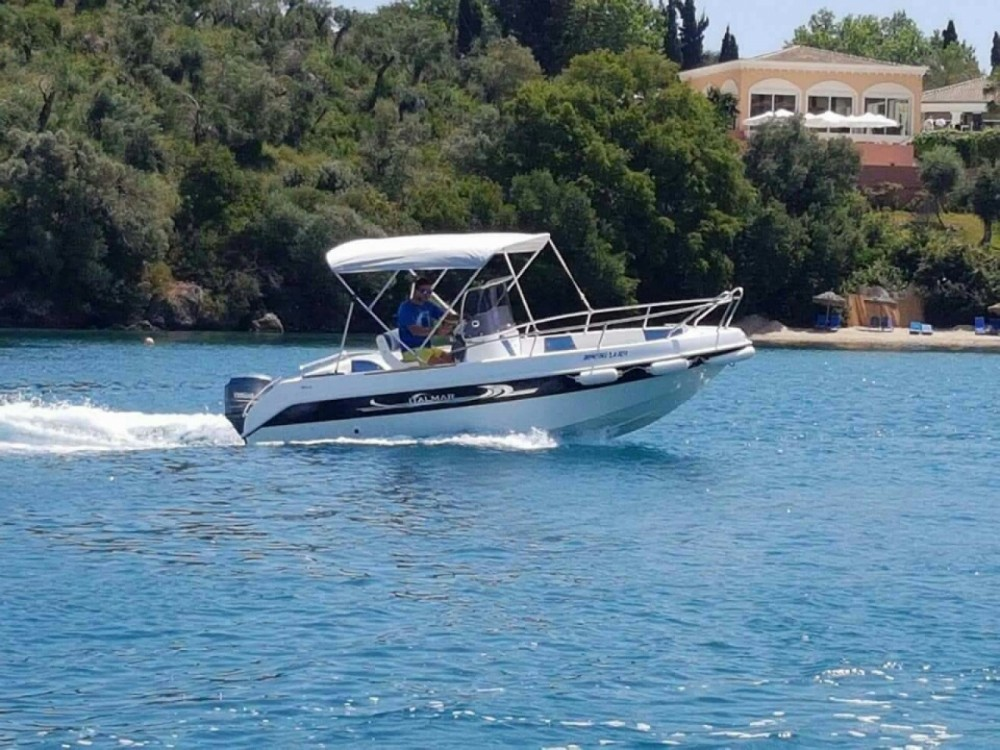 Motorboat for rent Corfù at the best price