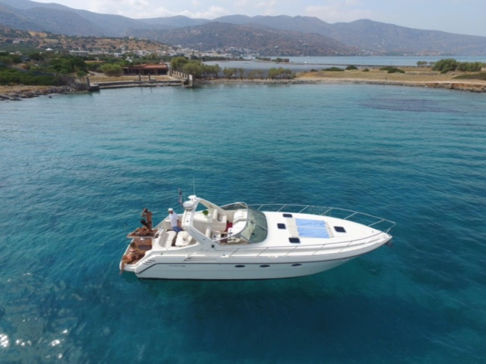 Hire Motorboat with or without skipper Cranchi Agios Nikolaos