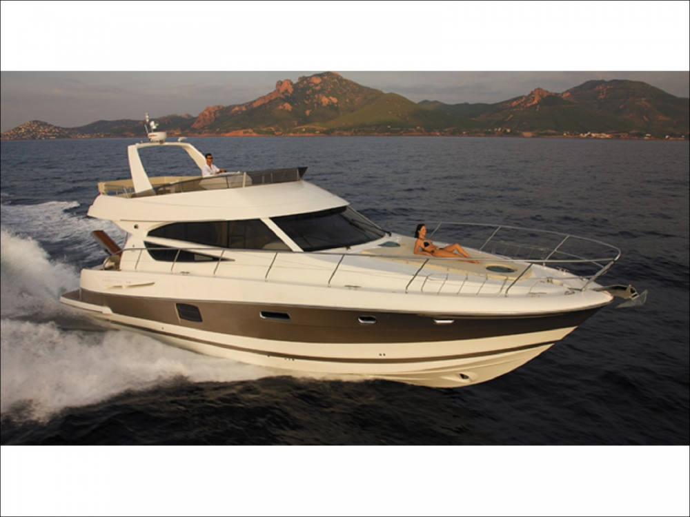 Boat rental Hyères cheap Prestige 50 Fly